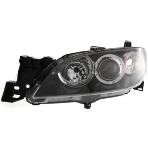 Headlight For 2004 2005 2006 2007 2008 2009 Mazda 3 Sedan Left Capa
