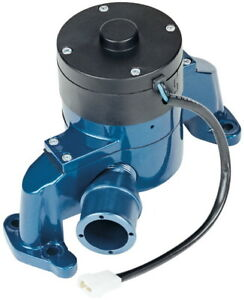 Proform 66225b Electric Water Pump Kit Blue Fits Small Block Chevy Engines
