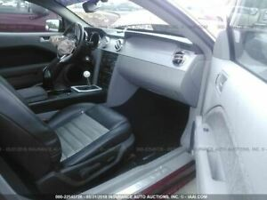 Passenger Front Seat Bucket With Sport Type Air Bag Fits 05 09 Mustang 502889
