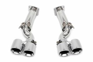 Fabspeed Muffler Bypass Exhaust For 06 09 Porsche 997 Turbo 3 6l Off Road Only