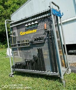 Used Caroliner Collision Repair Auto Bodyshop Tool Rack Set Local Pickup Only