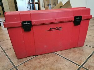 Bluepoint Red Tool Chest Powerlatch W Removable Tote