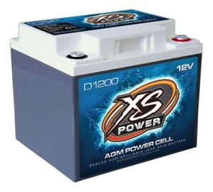 Xs Power Battery D1200 D Series Agm Battery 725 Cranking Amps 12 V Each