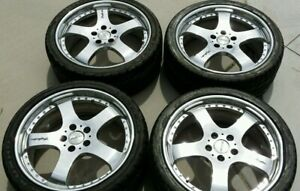 Jdm 19 5x114 3 Trafficstar Racing Dts Polished Wheels Rims Acura 3 2cl Tl Other