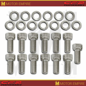 Fits Chevy Gm Turbo 350 Th350 400 Th400 Transmission Pan Bolt Kit 13 Pcs