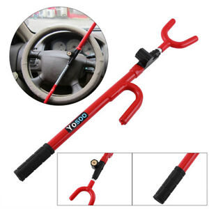 Auto Car Anti Theft Security System Steering Wheel Lock Suv Truck Universal