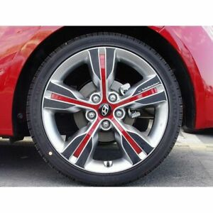 New Carbon Tuning Wheel Mask Decal Sticker For Hyundai Veloster 2011 18
