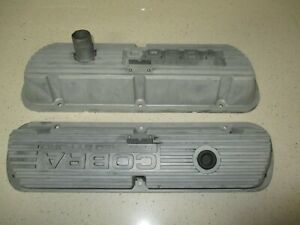 Oem Ford 1968 Shelby Gt 350 64 70 289 302 Mustang Cobra Valve Covers P M