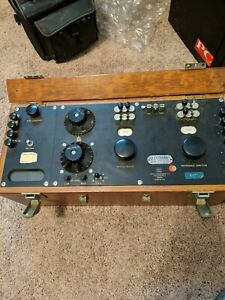 Leeds And Northrup Vintage Galvanometer In Wood Case