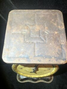Antique Pat 1912 American Cutlery Co National Family Household Scale 24 Lb A