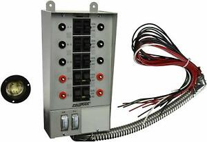 Reliance Controls Corporation 30310a Pro tran 30 amp Indoor Transfer Switch For