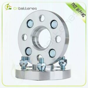 2x 20mm Hubcentric 4x100 Wheel Spacers For Honda Civic 1988 2005 56 1