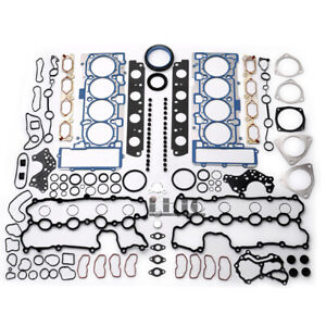 Engine Overhaul Rebuilding Gasket Seals Kit For Audi S5 A6 A8 Q7 Vw Touareg 4 2l