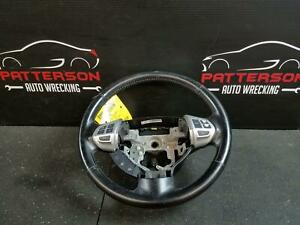 2012 Mitsubishi Outlander Leather Wrapped Steering Wheel