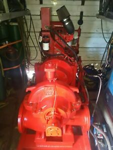 Perkins Diesel With Clarke Fire water Pump 750gpm agr Irrigation System