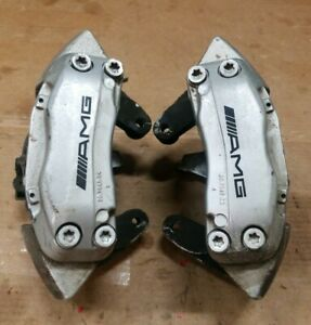 2003 2007 Mercedes C203 C32 Clk55 C55 Amg Front Brembo Brake Calipers Pair Oem