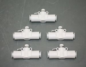 5 Smc Pneumatic Air Cylinder Speed Control Valve As3002f Inline 1 2 12mm