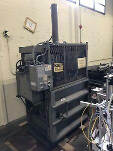 Industrial Trash Waste Compactor E m Corp Model 48