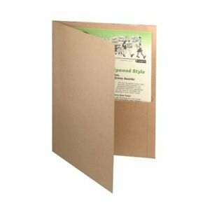 Earthwise Oxford 100 Recycled Paper Twin Pocket Folders Letter 8 50 X 11