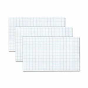 Oxford Printable Index Card 3 X 5 90 Lb Recycled 100 Pack White