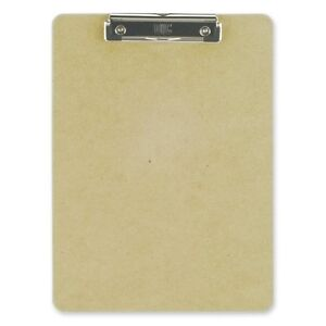 Oic Low profile Wood Clipboard 1 Capacity 9 X 12 50 Low profile