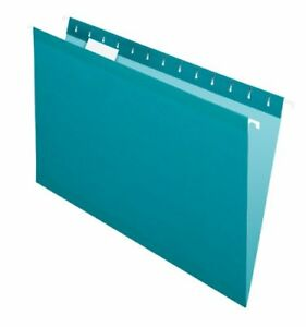 Pendaflex 1 5 Cut Colored Hanging Folders Legal 8 50 Width X 14 Length