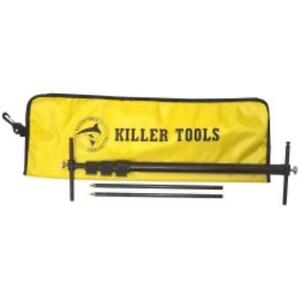 Killer Tools Art90mini Mini Squaring Tram Gauge Telescoping Tram Gauge