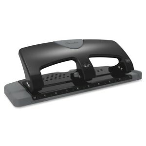 Swingline Manual Hole Punch 3 Punch Head s 20 Sheet Capacity 9 32