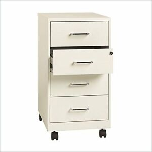 Lorell 4 drawer 26 1 2 Mobile Storage Cabinet 14 3 X 18 X 26 5 Steel 4