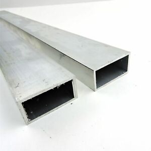 5 x2 od Aluminum Rectangle Tubing 125 Wall Thickness 37 5 Long Qty 2 137760