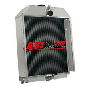 Tractor Radiator For Allis Chalmers Wc Wd Wf Wd45 Gas Lp 70228587 70228585 3 Row