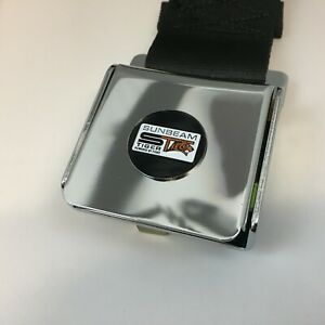 Sunbeam Tiger Classic Chrome Buckle Seat Belt With Logo Two Point Mounting