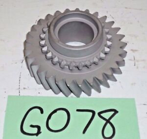 Used Oem 75 80 Triumph Spitfire 1500 Tr7 Gearbox Mainshaft 1st Gear G078