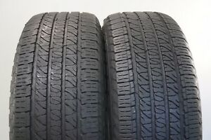 Set Of 2 Used Tires 71 76 Life P265 50r20 107t Goodyear Fortera 2655020