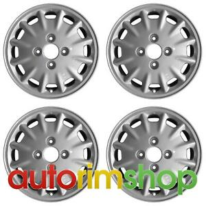 Honda Accord 1996 1997 15 Oem Wheel Rim Set
