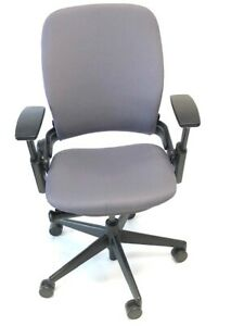 Steelcase Leap V2 Grey Fabric Task Chair