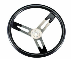 Sweet Natural Aluminum 16 In Diameter Steering Wheel P n 601 70161