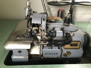 Singer Serger 460 13 Industrial Commercial Sewing Machine Drapery Upholstery