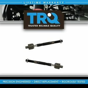 Front Inner Steering Tie Rod End Linkage Lh Rh Pair Set 2pc For Rio Accent New