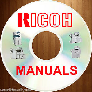 Ricoh Black White Analog Copiers Service Manuals Parts Manual Catalog On A Dvd