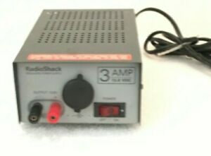Radio Shack Regulated Power Supply 3 Amp 13 8 Vdc