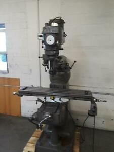 Alliant Milling Machine W Power Feed