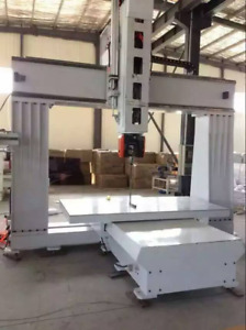 5 axis Cnc Router For Plastic wood Foam pe heavy Duty Industrial multi axis