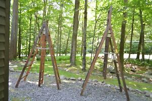 Wodden A frame Scaffolding 16 Foot Aluminum Plank Local Pick Up Gouldsboro Pa