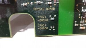 Hp Philips Sonos 5500 Ultrasound Physio Board 77921 60620 77921 60630