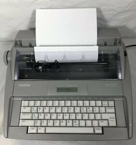 Brother Sx 4000 Electronic Typewriter With Lcd Display Tested Working