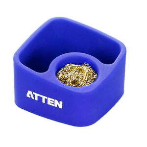 Soldering Iron Tip Cleaner Atten Soldering Tip Cleaning Ball And Base