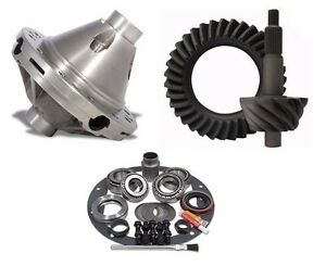 Ford 9 Inch 4 11 Ring And Pinion 28 Spline Posi Master Install Gear Pkg