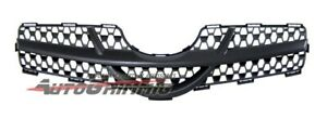 Front Sporty Mesh Grille Grill For Toyota 06 08 07 Yaris 3dr Hb Hatchback Black