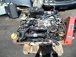 Subaru Legacy Gt Jdm Rhd 2l Twin Turbo Engine Motor Bh B4 Ej20 5spd Transmission